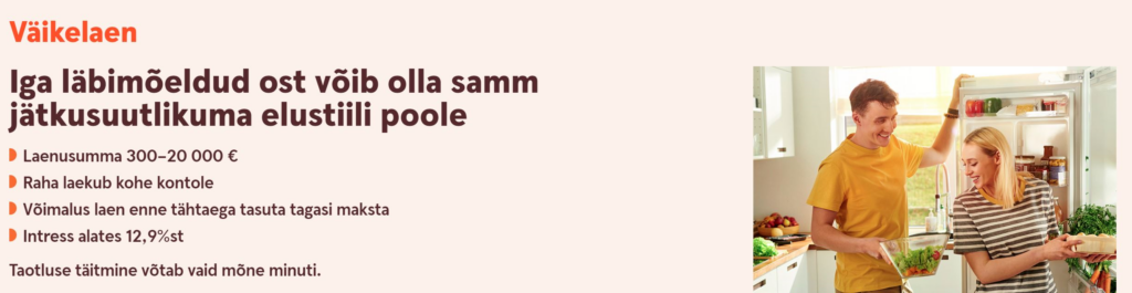 Swedbank väikelaen